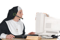 Religious hot line Royalty Free Stock Photos