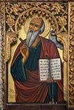 Religious Icon - St Barnabas Monastery stock photography