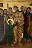 Religious Icon - Turkish Cyprus stock photos