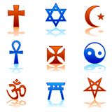 Religious icons Stock Images