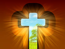 Religious illustration Stock Photography