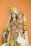 Virgen del Carmen Royalty Free Stock Photos