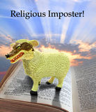 Religious imposter Royalty Free Stock Photography