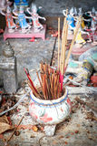 Religious Incense sticks Royalty Free Stock Images
