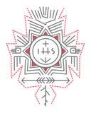 Religious indigenous symbols Royalty Free Stock Photography
