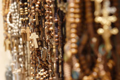 Religious items shop Stock Photo