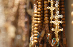 Religious items shop Royalty Free Stock Photography