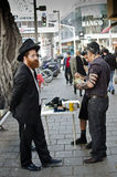 Religious Jewish people in Israel royalty free stock photo