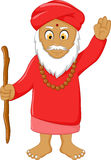 Religious leader cartoon for you design Royalty Free Stock Photo