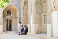 Religious men in Shiraz, Iran Stock Photo