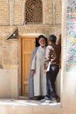 Religious men in Shiraz, Iran Royalty Free Stock Image