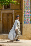 Religious men in Shiraz, Iran Stock Images