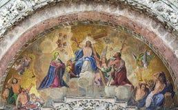 Religious miniature scene Royalty Free Stock Photography