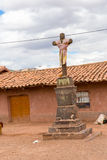 Religious monument in Raqchi, Cusco, Peru,South America Royalty Free Stock Photos