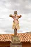 Religious monument in Raqchi, Cusco region, Peru, America Royalty Free Stock Images