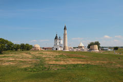 Religious monuments of 13-18th centuries. Bulgar, Russia Royalty Free Stock Image