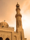 Religious mosque in Egypt Stock Image
