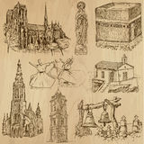 Religious no.7 - Vector pack, hand drawings Royalty Free Stock Photography