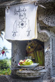 Religious offering in Bali Stock Image