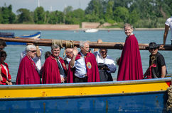 Religious Officials, Venice Festival Stock Photo