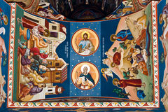 Religious painting IX Stock Photos