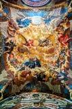 Religious painting in Monastery in Burgos Stock Images