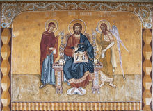 Religious painting Stock Photography