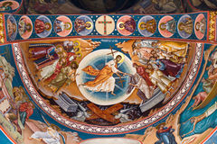 Religious painting VII Stock Images