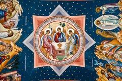 Religious painting XII Stock Photo
