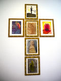 Religious Paintings Royalty Free Stock Images