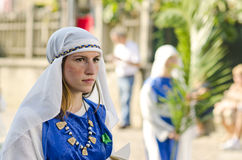 Religious parade in Italy Royalty Free Stock Photography