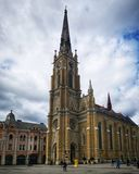 Religious place cathedral building royalty free stock images