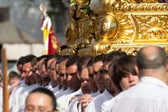 Religious porters Stock Photo