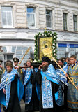 Religious procession royalty free stock photos