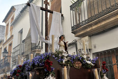 Religious procession, Cordoba, Spain Stock Photography