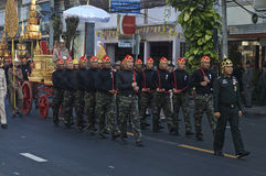 Religious procession in Thailand. Stock Photo