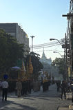 Religious procession in Thailand. Stock Image