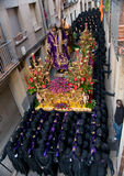 Religious processions in Holy Week. Spain Royalty Free Stock Image