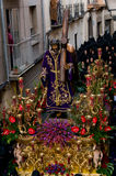 Religious processions in Holy Week. Spain Royalty Free Stock Photography