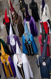 Religious processions in Holy Week. Spain Royalty Free Stock Photos