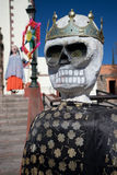 Religious puppets in Mexico. Religious puppets in front of church in Guanajuato, Mexico Stock Photos
