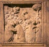 Religious relief siena Royalty Free Stock Photos