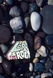 Religious Rock Stock Image