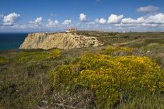 Religious sanctuary of Cape Espichel Stock Photography