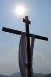 Religious scene crux Royalty Free Stock Photo