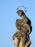 The religious sculpture Stock Images