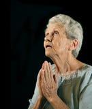 Religious Senior Citizen Stock Photography