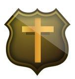 Religious shield Stock Photography