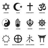 Religious sign and symbols Royalty Free Stock Images