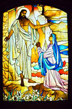 Religious Stained Glass Stock Photos